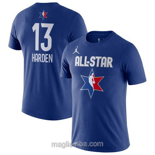 T-Shirt nba all star game 2020 #13 James Harden blu