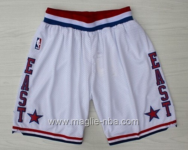Pantaloncini nba All Star Game 2003 bianco