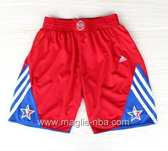 Pantaloncini nba All Star Game 2013 rosso