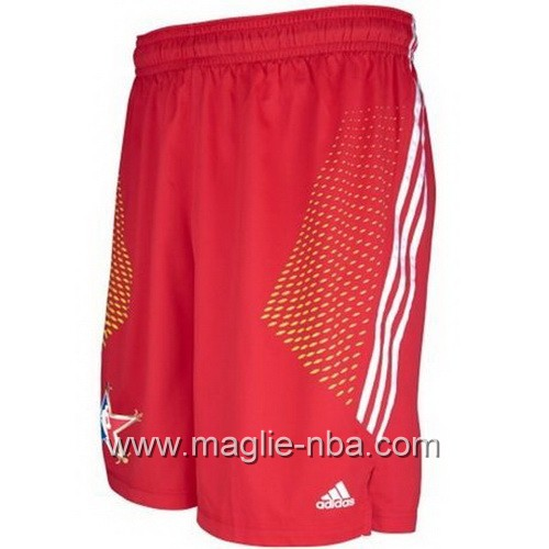 Pantaloncini nba All Star Game 2014 rosso